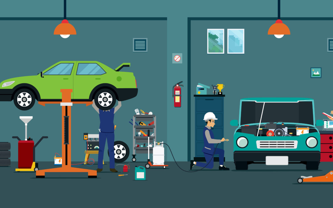 car repair Dubai