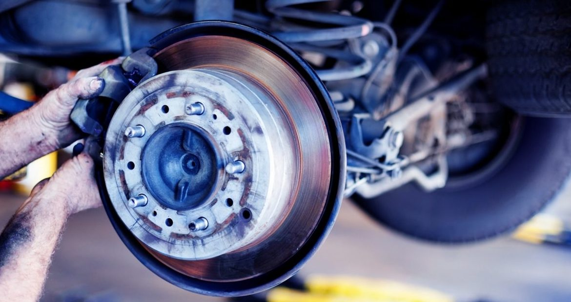 car brake repair in Dubai
