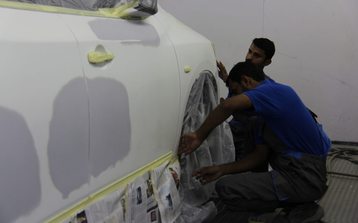 car paint repair in dubai