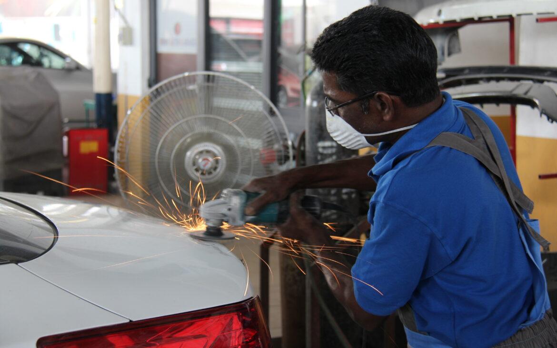 car paint repair in dubai