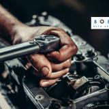This image shows auto repair in Dubai
