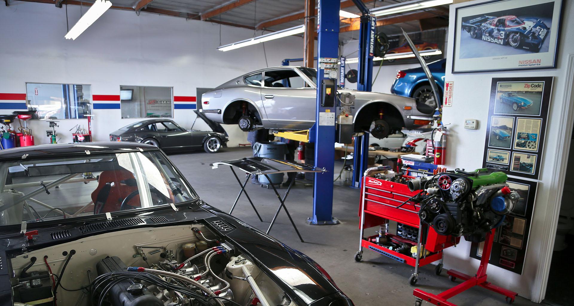 архитектурный фотографии ремонтных мастерских автомобилей должны находиться симметричном